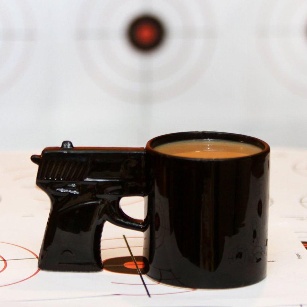 Divine Mugs Ny Gun Mug Milk Tea Cup Pistol Grip Coffee Cups Mugs Ny Gun Mug Milk Tea Cup Officeceramic Coffee Mug Drinkware Discount Coffee Mugs Drinking Mugs From Pistol Grip Coffee Cups furniture Cool Drinking Mugs