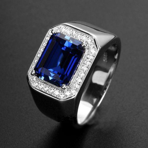 Medium Crop Of Mens Sapphire Rings