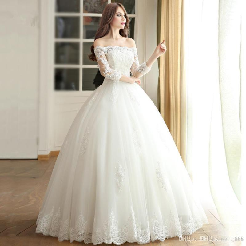 Large Of Simple Wedding Dress