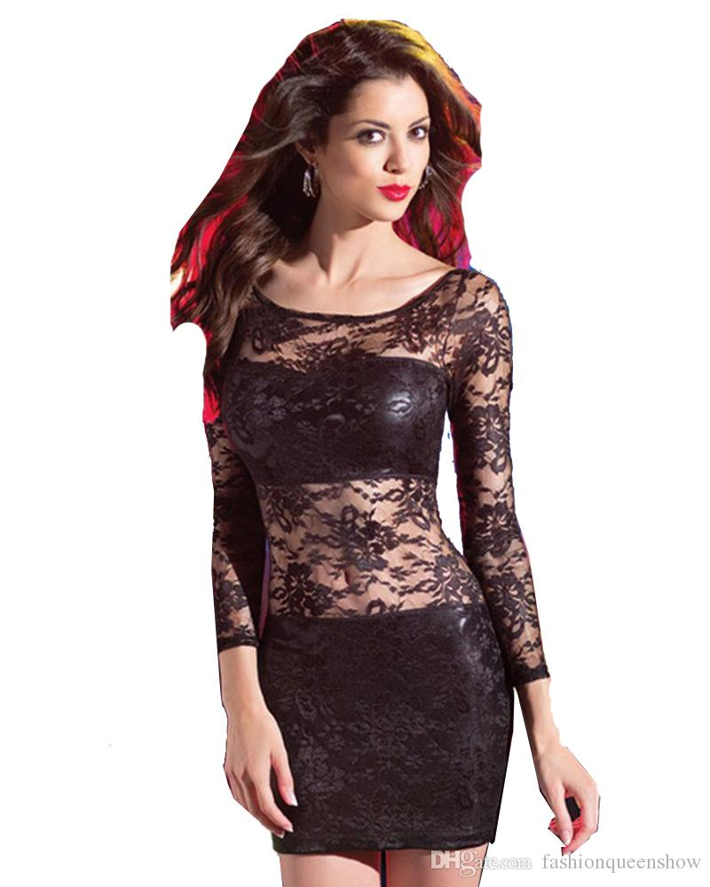 Fullsize Of Long Sleeve Lace Dress