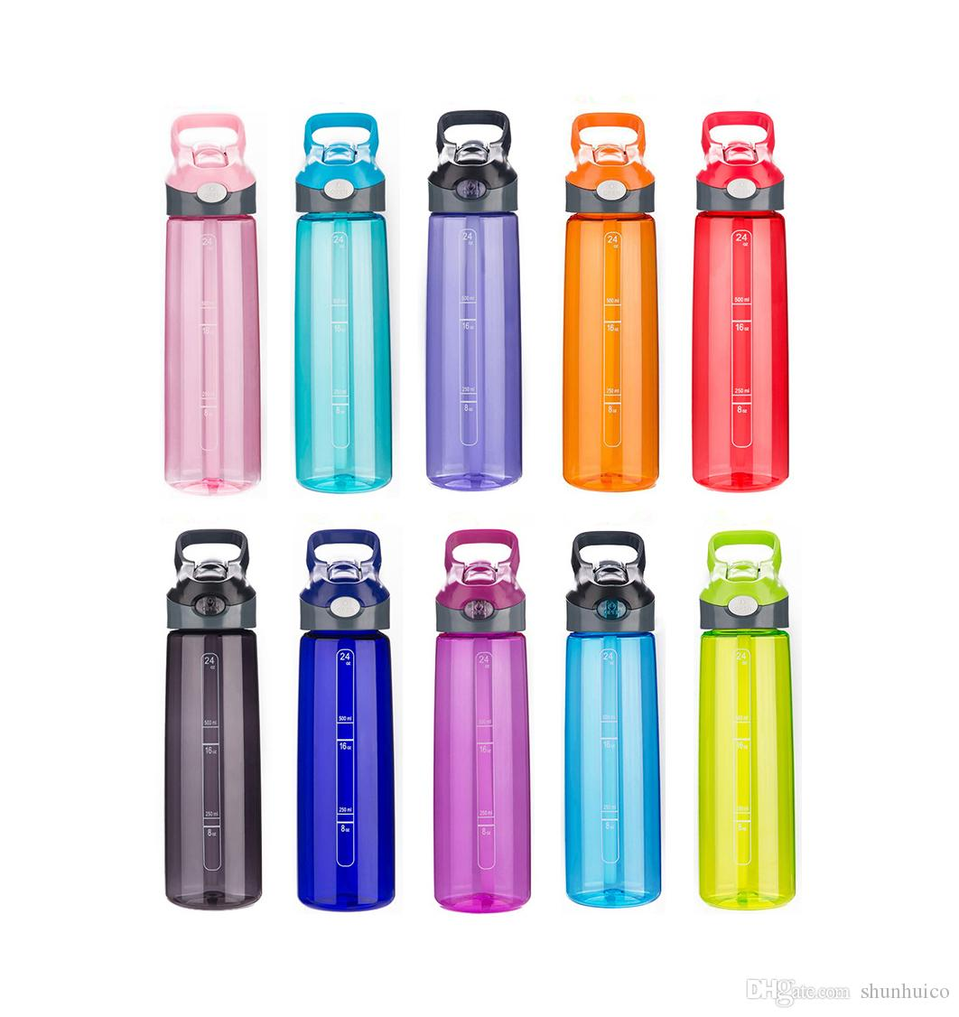 Traditional Handle Bpa Free Dust Proof Kids Reusable Waterbottles Sports Water Bottle Oz And Handle Bpa Free Dust Proof Cap Drinking Bottles Straw Outdoor Hikingplastic Water Bottle Reusable Water Bot baby Kids Water Bottles