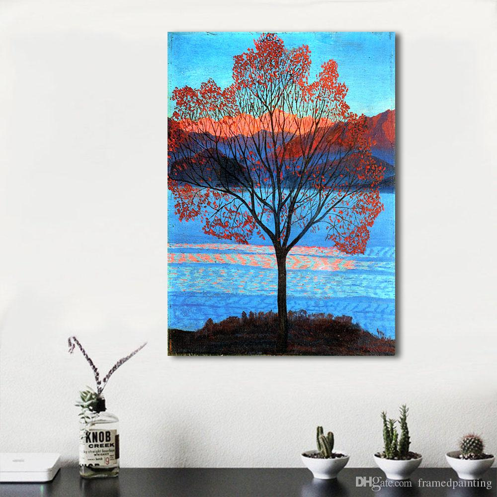 White Living Room Painting Wall 2018 Maple Trees Wall S Living Room Painting Wallpainting Canvas Art No Frame From 2018 Maple Trees Wall S houzz 01 Blue Maple Tree