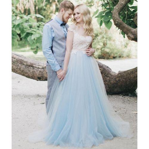 Medium Crop Of Tulle Wedding Dress