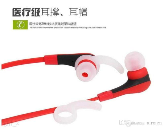 Portable Wireless Bluetooth Noise Cancelling Headset Headphones with Microphone 2