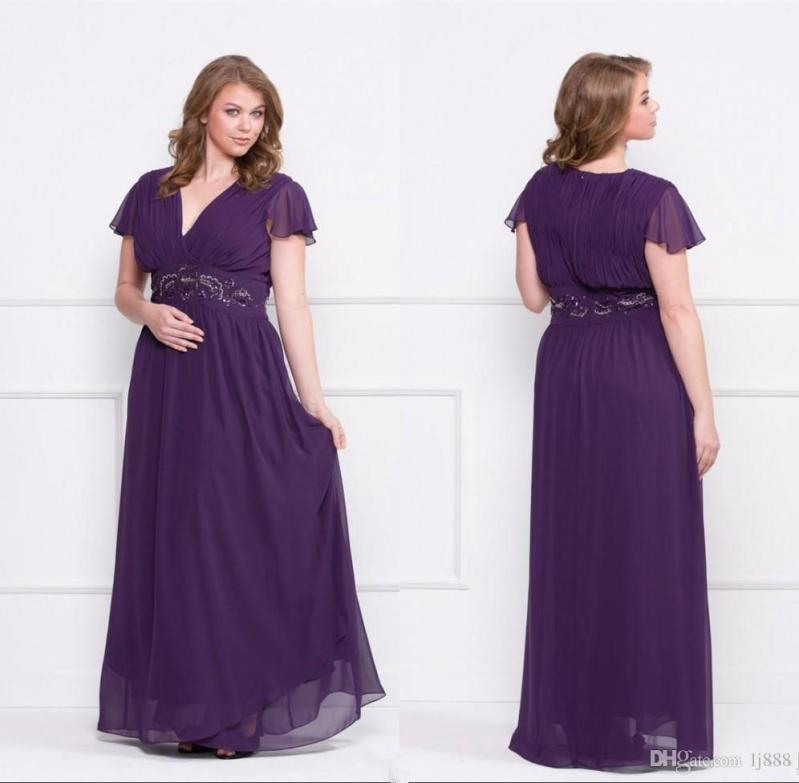 Large Of Plus Size Purple Dress