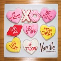 valentine cookieset
