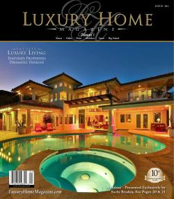 Gorgeous Luxury Home Magazine Hawaii Issue By Luxury Home Magazine Issuu My Big Backyard Magazine Subscription My Big Backyard Magazine Discount