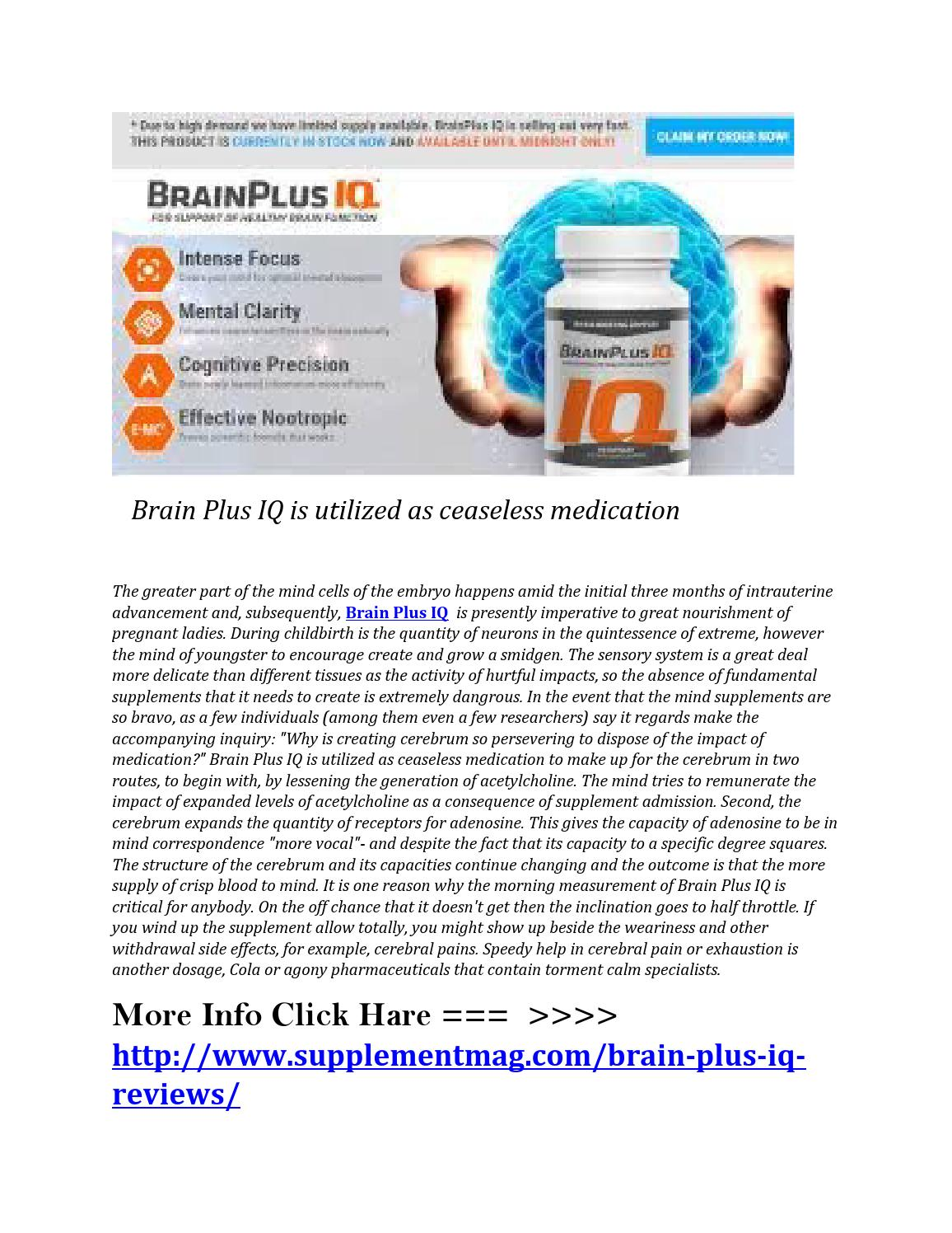 Hilarious Iq Ingredients Brain Brain Iq Chile Iq Is Utilized As Ceaseless By Geniky Moresy Issuu Brain houzz-02 Brain Plus Iq