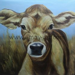 Shapely China Hand Painted Muted Cow Canvas Oil Painting Home Decor Crow Home Decor Cowboy Home Decor Wholesale Home Decor China Wall Art China Hand Painted Muted Cow Canvas Oil Painting