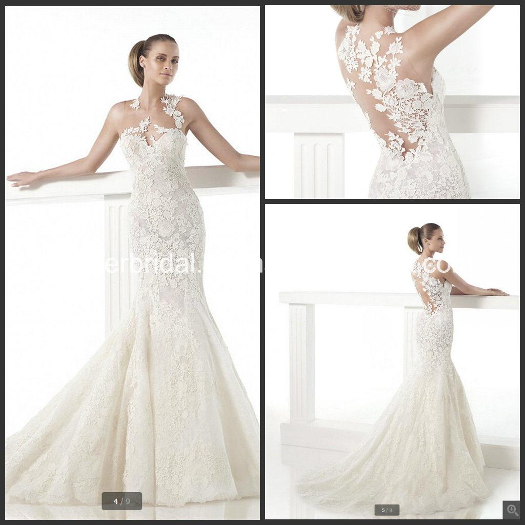 mermaid wedding dresses mermaid lace wedding dress Strapless Mermaid Wedding Dress