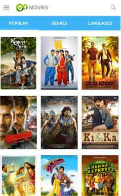 Eros Now Movies app