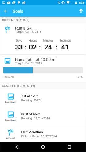 Runkeeper GPS Track Run Walk