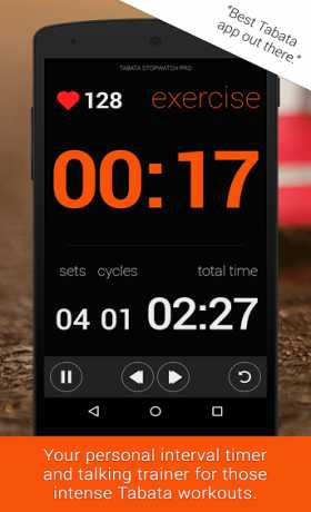 Tabata Stopwatch- Tabata Timer