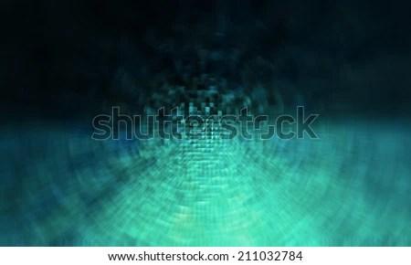 blue technology circular motion