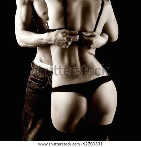 erotic couples touching each other