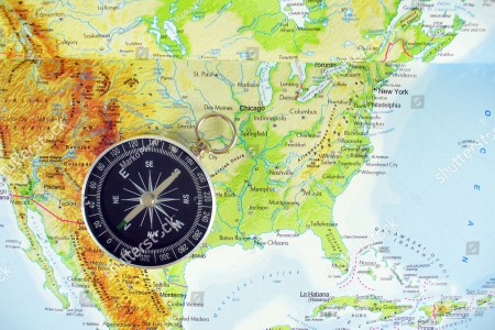 comp on map of usa stock photo 61713565 shutterstock