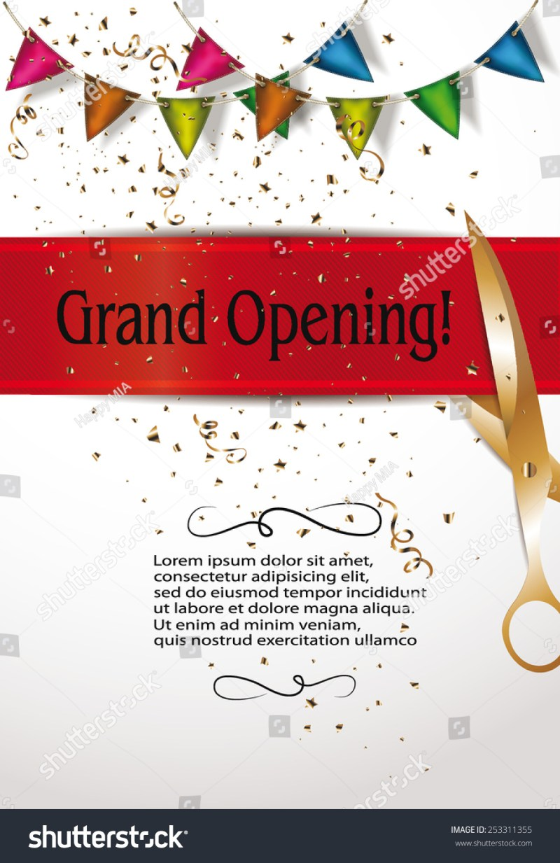 Opening ceremony invitation card template invitationswedd invitation letter sample for opening ceremony wingstofly info stopboris Images