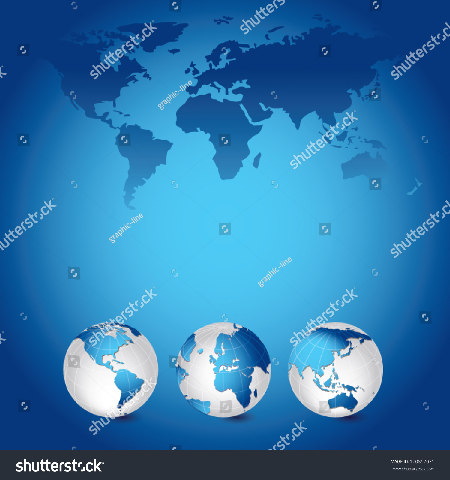 World Map Globes Vector Illustration Global Stock Vector 170862071     World Map Globes Vector Illustration Global Stock Vector 170862071    Shutterstock