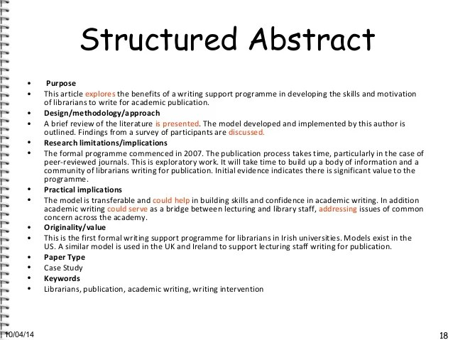 Outline For Writing An Abstract Pictures to Pin on ...