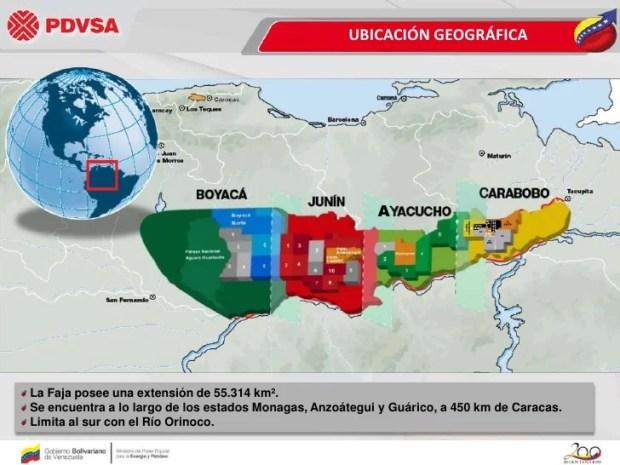 Faja Petrolífera del Orinoco Hugo Chávez, Petro
