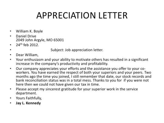 Appreciation Letter For Employee Leaving appreciation letters – Employee Leaving Announcement Sample