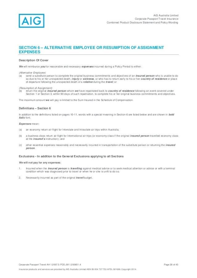 Travel Insurance Definition Of Terminal Illness Joshymomo Org