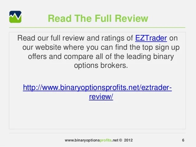 Binary option robot review youtube