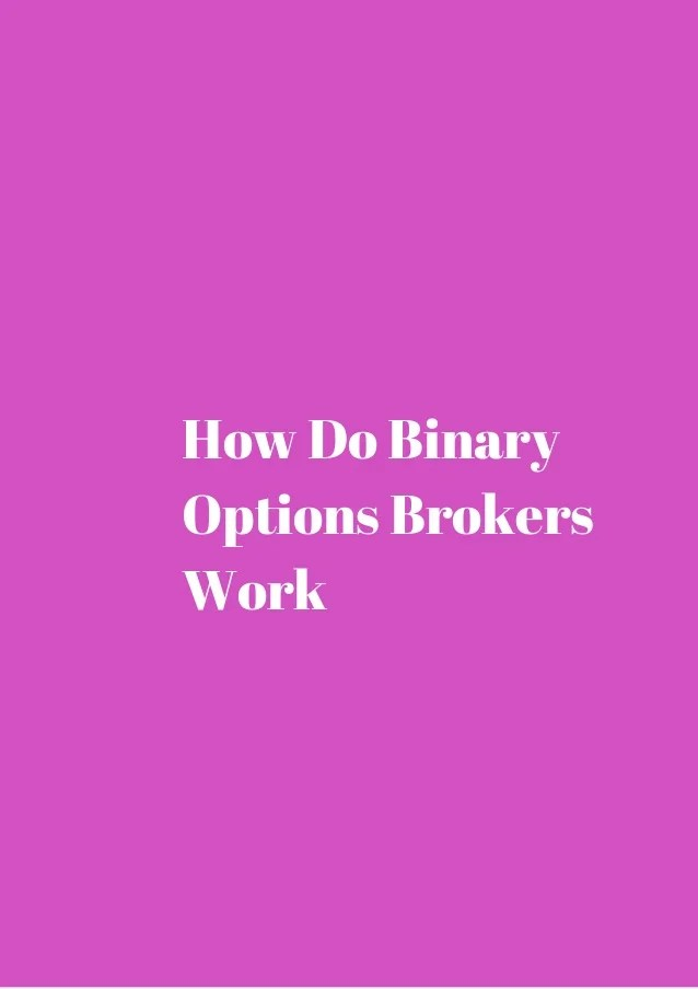 Regulated binary options platforms