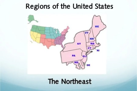 regions of the united states the northeast