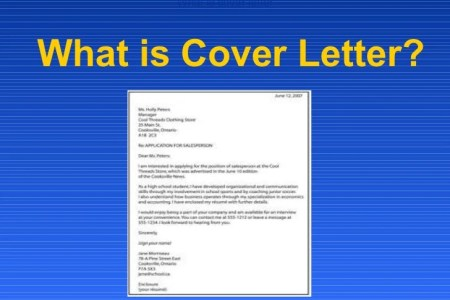 what is a cover letter - Whats A Cover Letter For A Resume