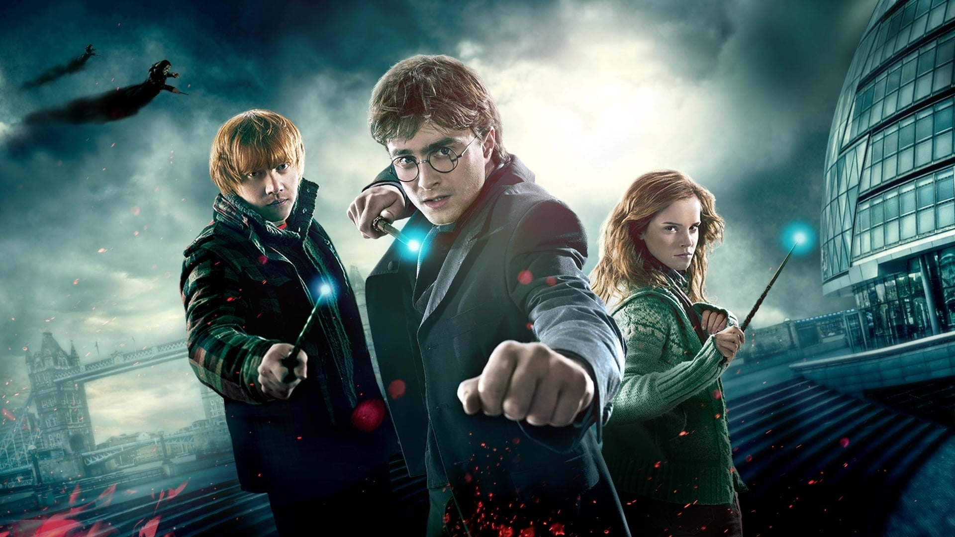 Watch Full Harry Potter and the Deathly Hallows: Part 1 2010 Movies Trailer