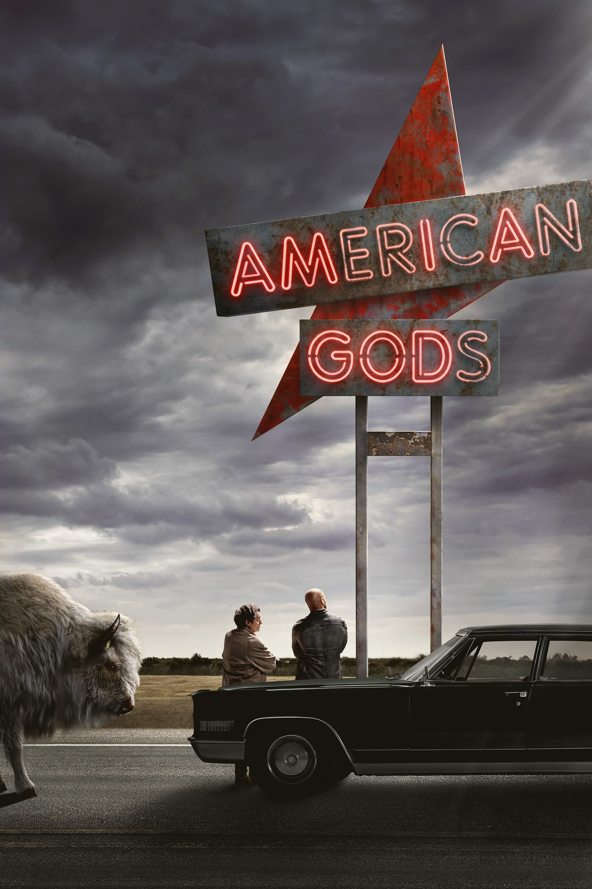 American Gods series tv complet