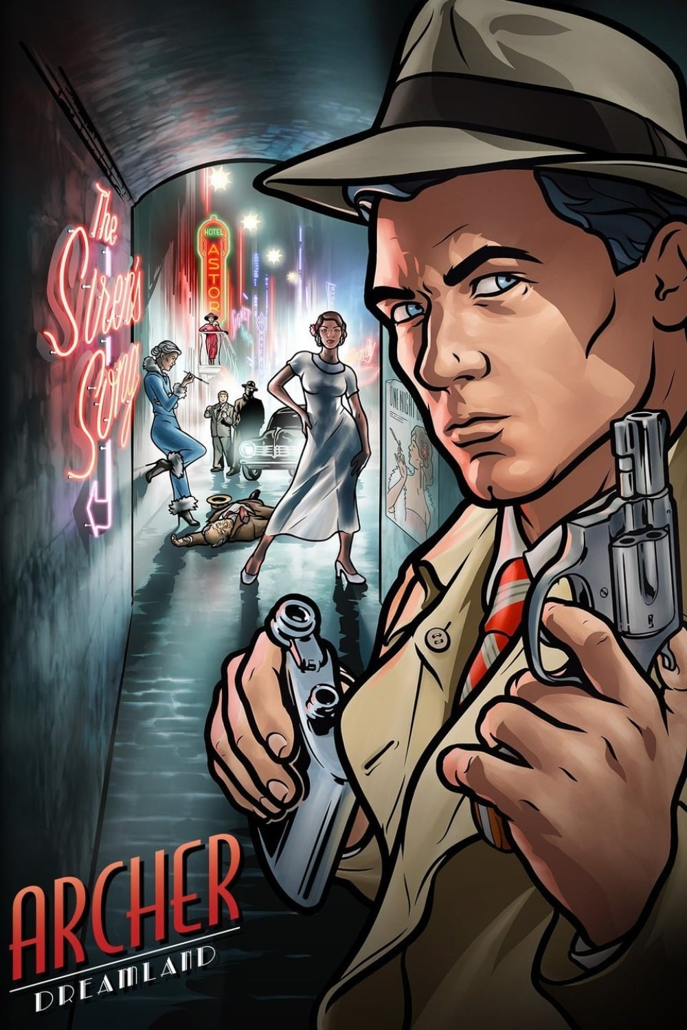 Archer series tv complet