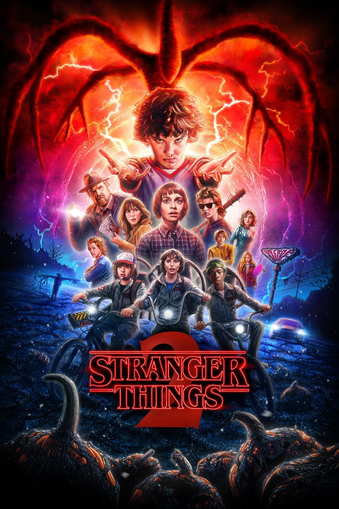 Stranger Things series tv complet