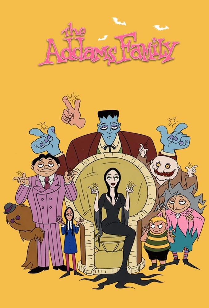 The Addams Family series tv complet