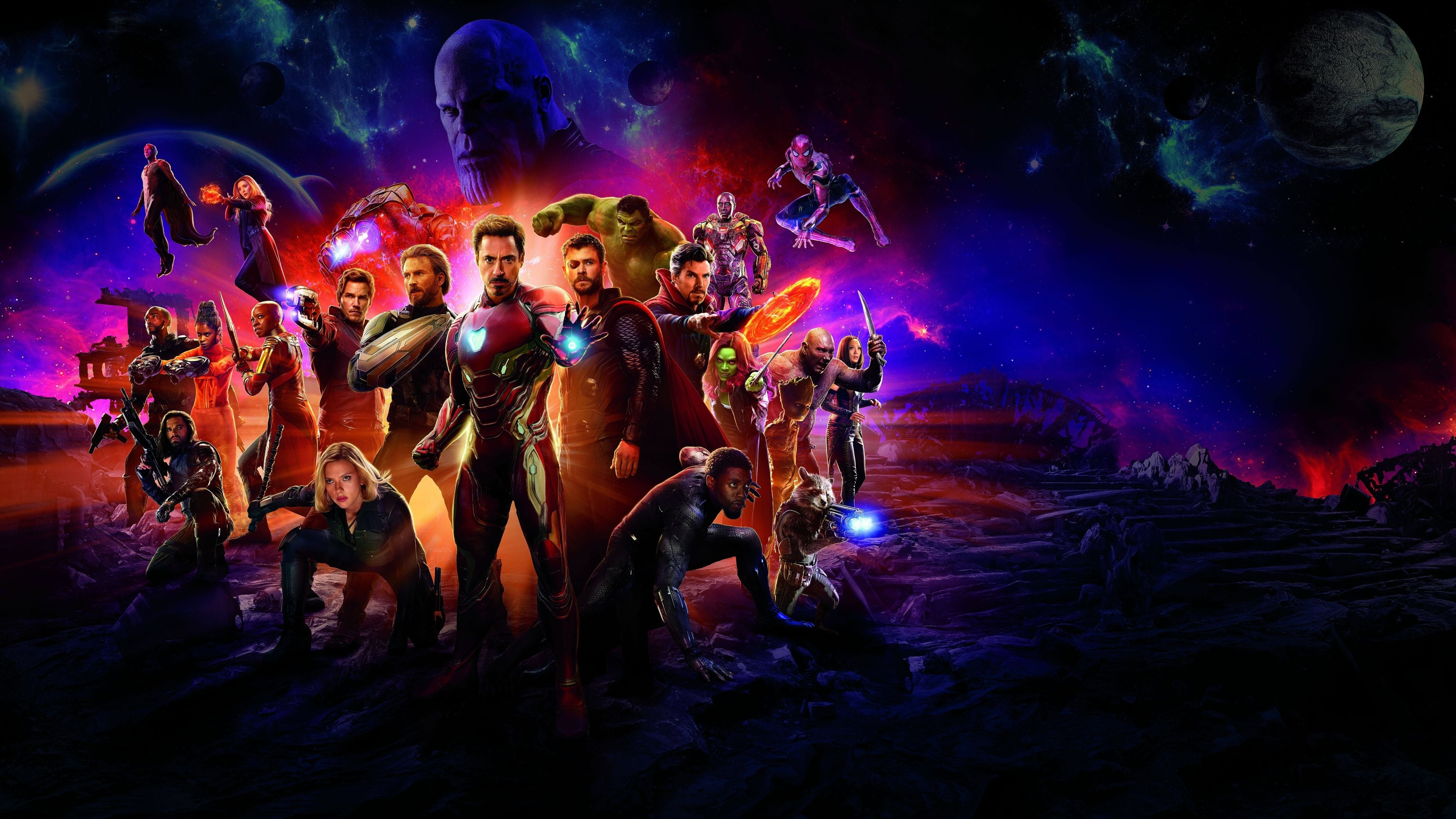 Watch Streaming Avengers: Infinity War 2018 Full Length Movie