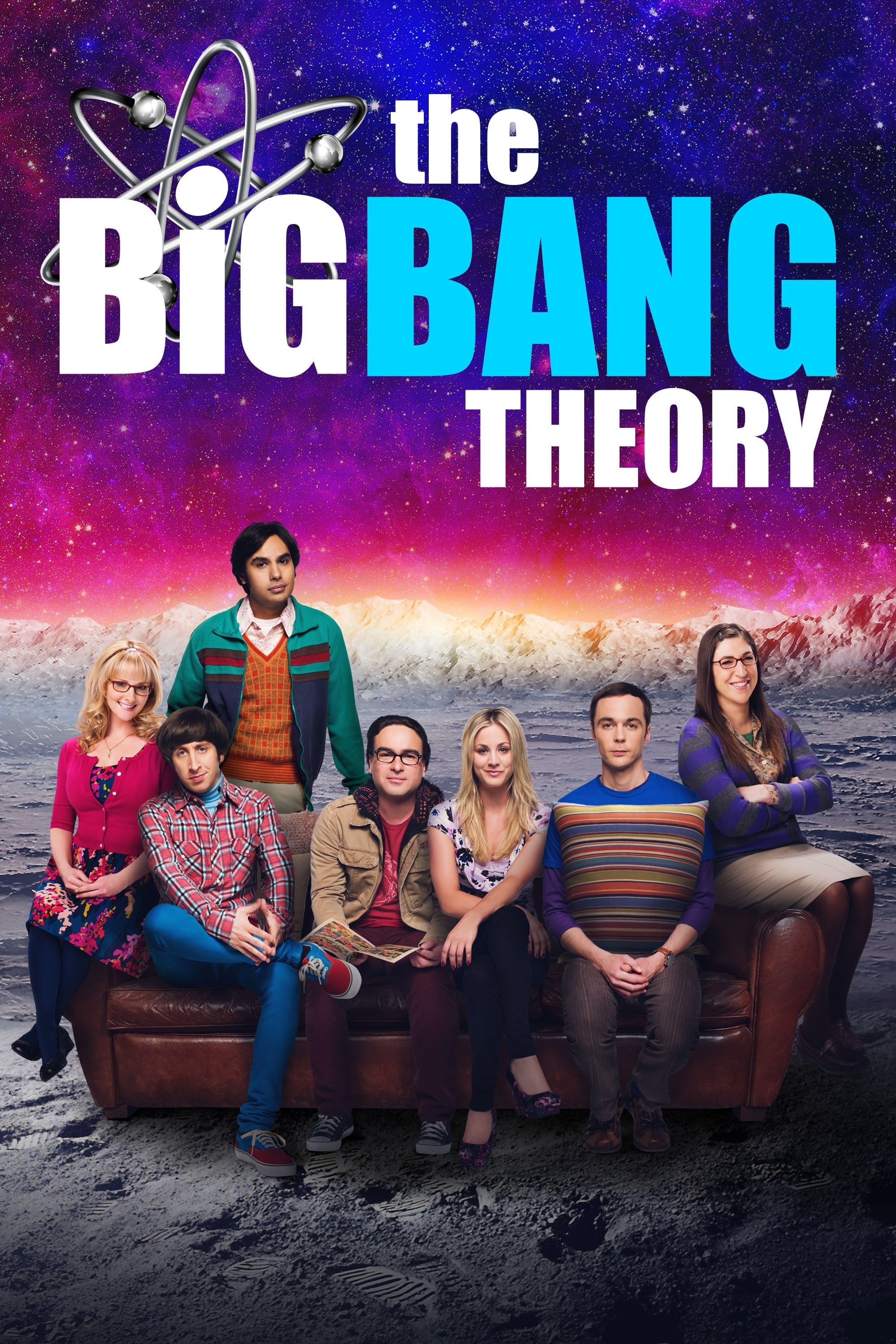 The Big Bang Theory series tv complet