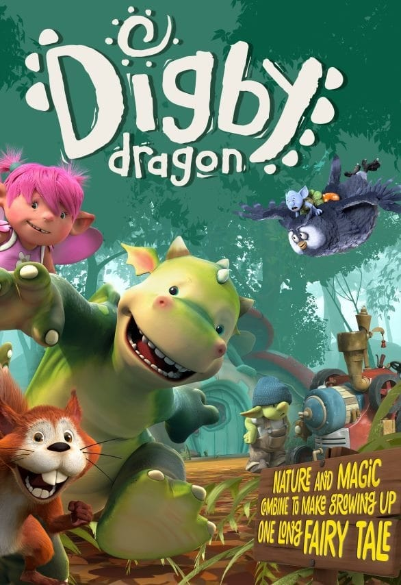 Digby Dragon series tv complet
