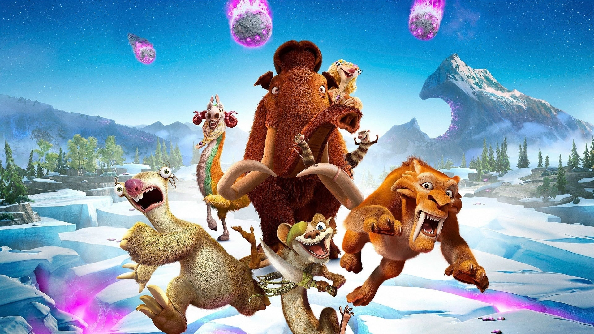 Watch Ice Age: Collision Course 2016 Summary Movie