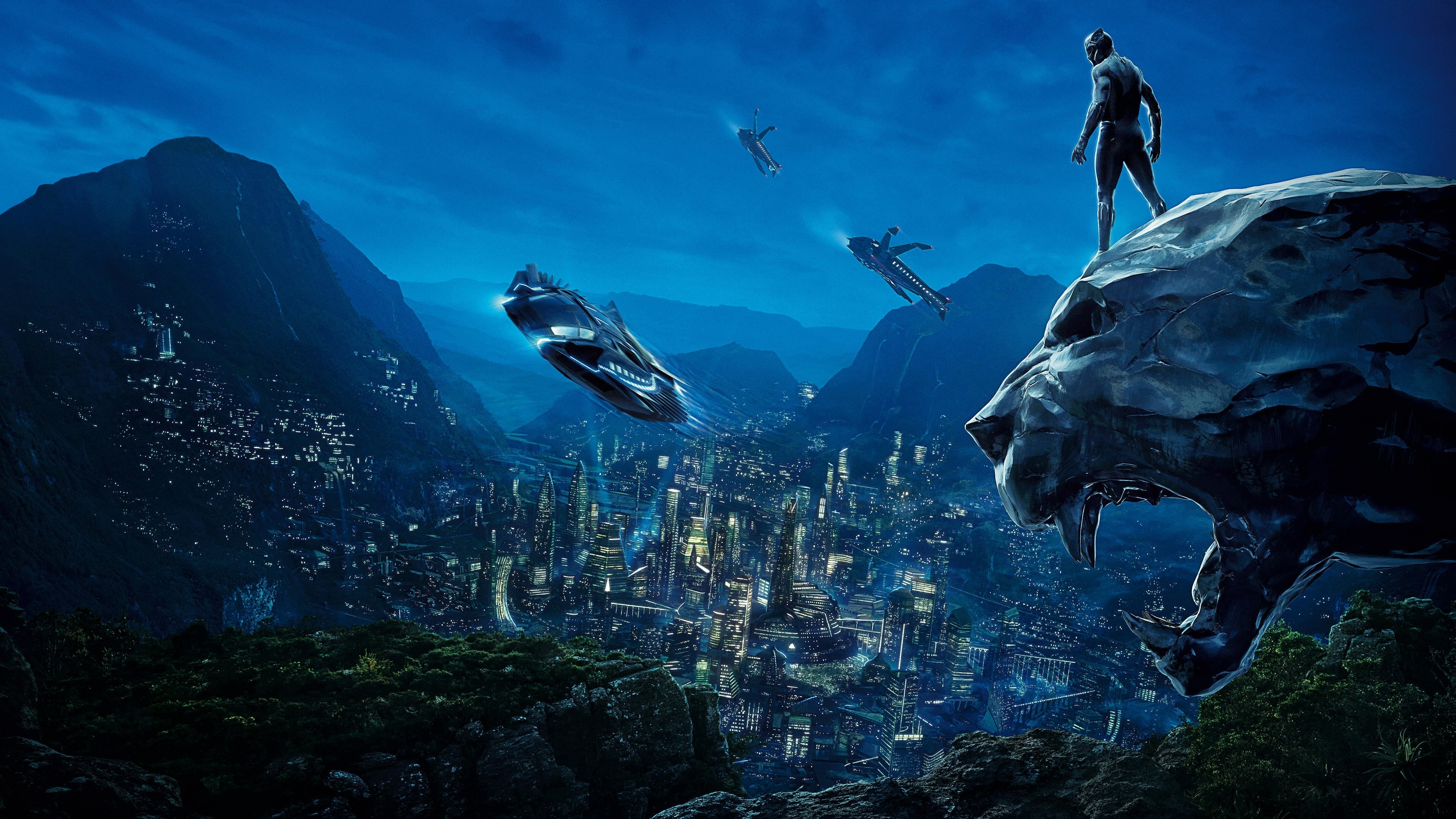 Free Watch Black Panther 2018 Full Length Movie