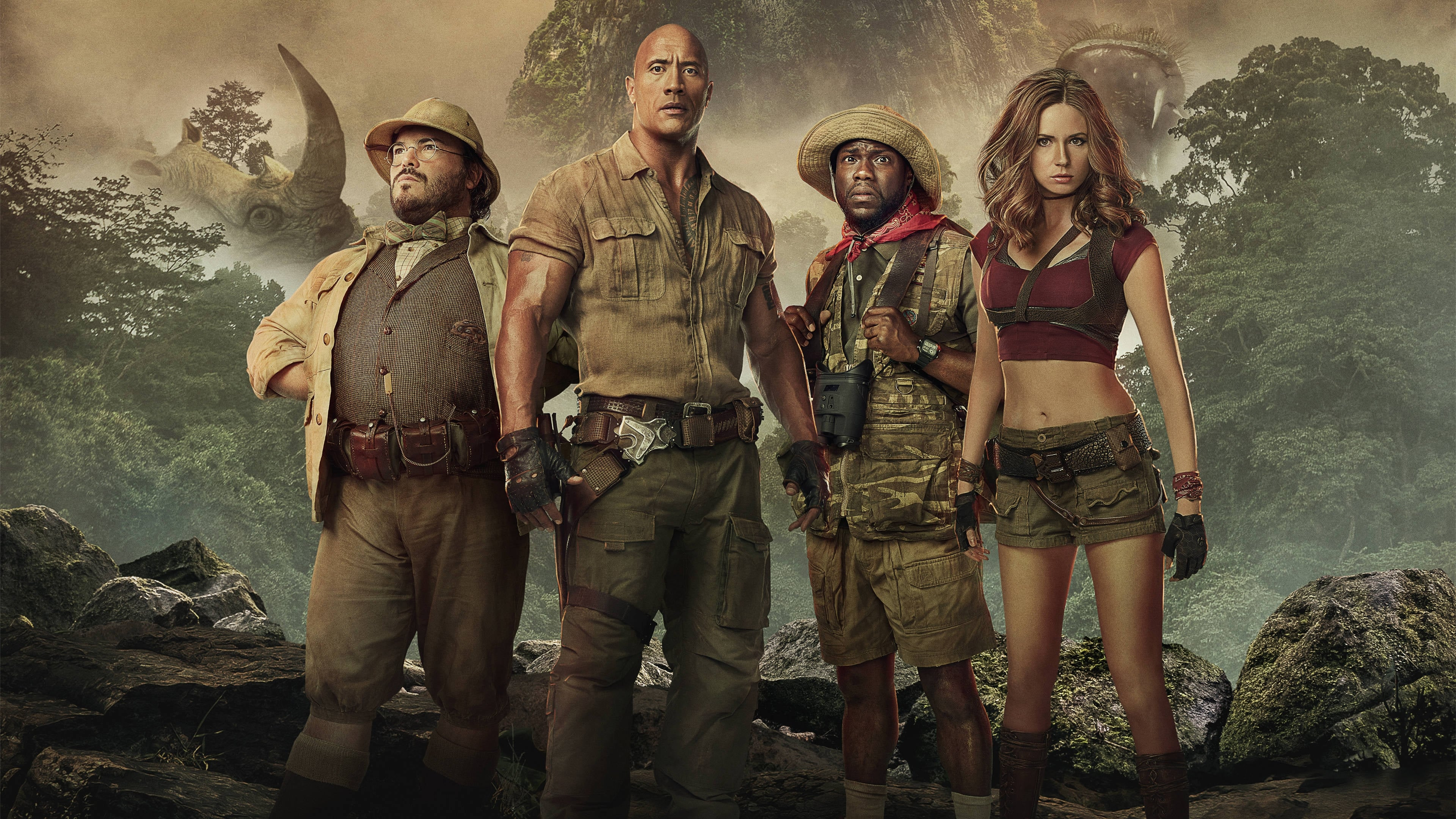 Watch Jumanji: Welcome to the Jungle 2017 Online Full Movie