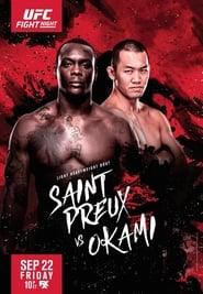 UFC Fight Night 117: Saint Preux vs. Okami Full online
