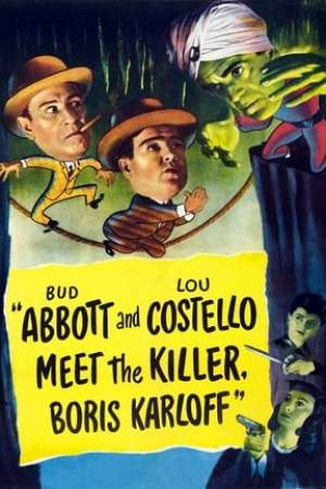 Image Abbott and Costello Meet the Killer, Boris Karloff