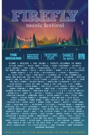 Muse at Firefly Music Festival 2017