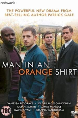 Image Man in an Orange Shirt