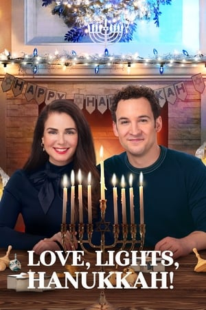 Image Love, Lights, Hanukkah!