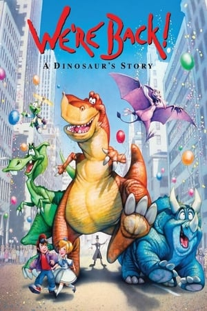 Image We're Back! A Dinosaur's Story
