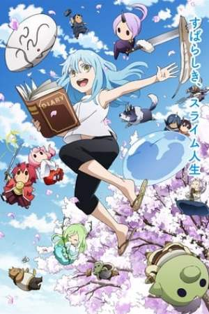 poster The Slime Diaries: That Time I Got Reincarnated as a Slime