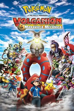 Image Pokémon the Movie: Volcanion and the Mechanical Marvel