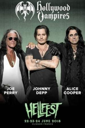 Hollywood Vampires Live at Hellfest 2018